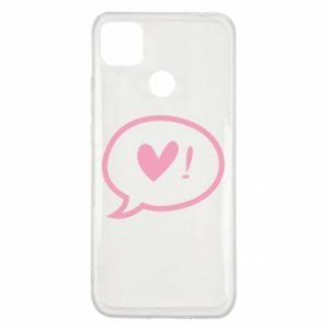 Etui na Xiaomi Redmi 9c Heart!