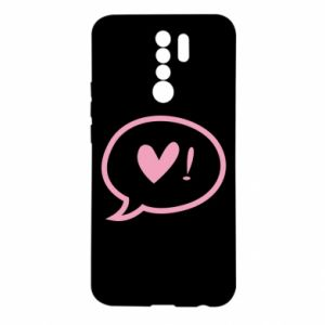 Etui na Xiaomi Redmi 9 Heart!