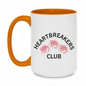 Kubek dwukolorowy 450ml Heartbreakers club