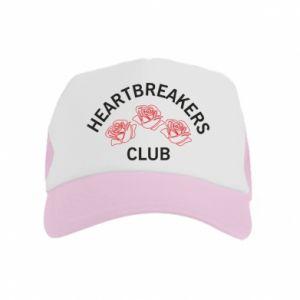 Czapka trucker dziecięca Heartbreakers club