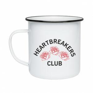 Kubek emaliowane Heartbreakers club