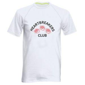 Męska koszulka sportowa Heartbreakers club