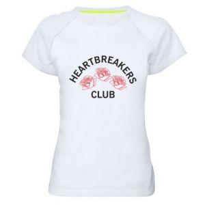 Damska koszulka sportowa Heartbreakers club