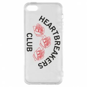 Etui na iPhone 5/5S/SE Heartbreakers club