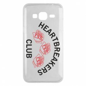 Etui na Samsung J3 2016 Heartbreakers club
