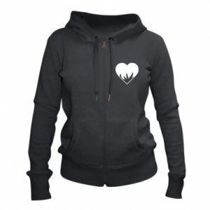 Damska bluza na zamek Heartburning