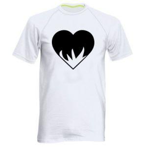 Męska koszulka sportowa Heartburning