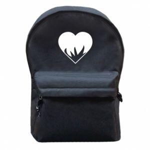 Plecak z przednią kieszenią Heartburning