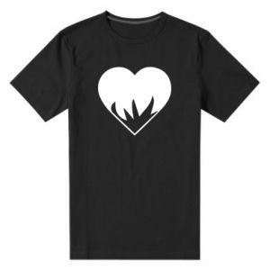 Men's premium t-shirt Heartburning