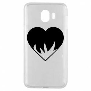 Etui na Samsung J4 Heartburning