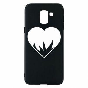 Etui na Samsung J6 Heartburning