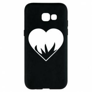 Etui na Samsung A5 2017 Heartburning