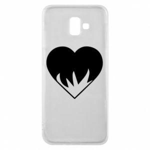 Etui na Samsung J6 Plus 2018 Heartburning