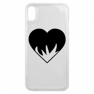 Etui na iPhone Xs Max Heartburning
