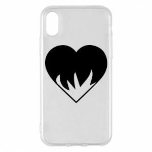 Etui na iPhone X/Xs Heartburning