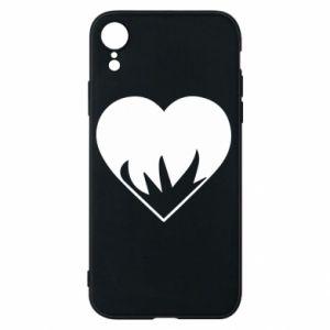 Etui na iPhone XR Heartburning