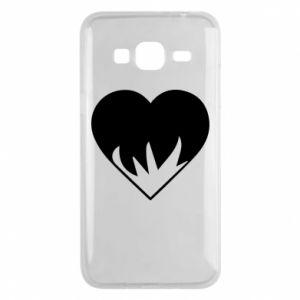Etui na Samsung J3 2016 Heartburning