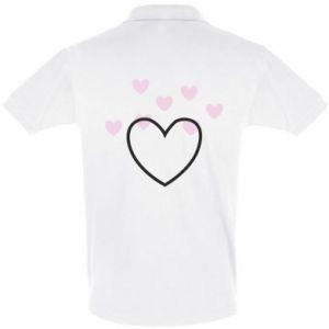 Koszulka Polo Hearts with hearts