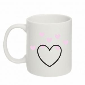 Kubek 330ml Hearts with hearts