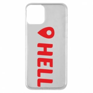 Phone case for iPhone 11 Hell is here