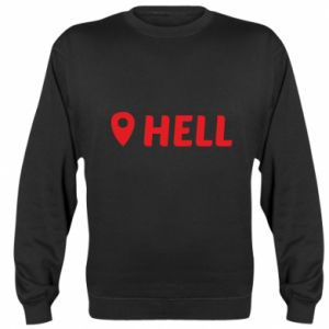 Bluza (raglan) Hell is here