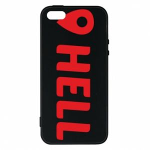 Etui na iPhone 5/5S/SE Hell is here
