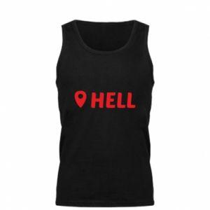 Męska koszulka Hell is here