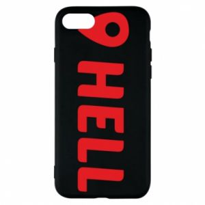 Phone case for iPhone 8 Hell is here