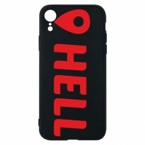 Phone case for iPhone XR Hell is here