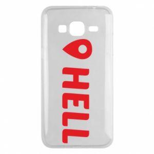 Phone case for Samsung J3 2016 Hell is here