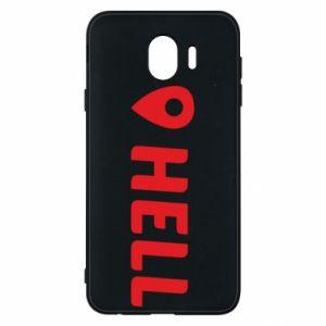 Etui na Samsung J4 Hell is here