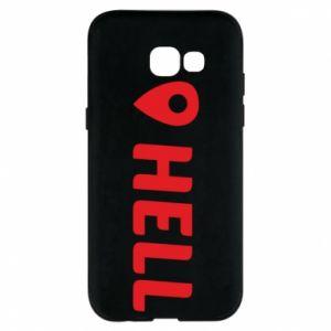 Etui na Samsung A5 2017 Hell is here