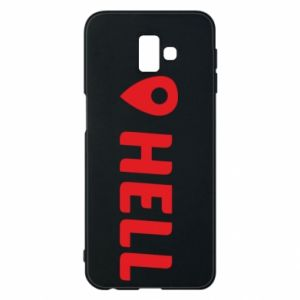 Phone case for Samsung J6 Plus 2018 Hell is here