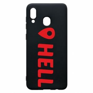 Phone case for Samsung A20 Hell is here