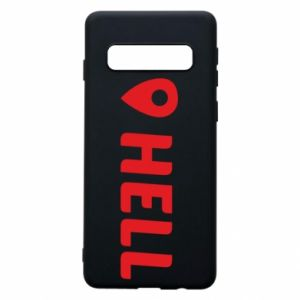 Phone case for Samsung S10 Hell is here