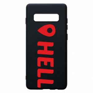 Phone case for Samsung S10+ Hell is here