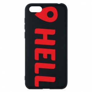 Phone case for Huawei Y5 2018 Hell is here