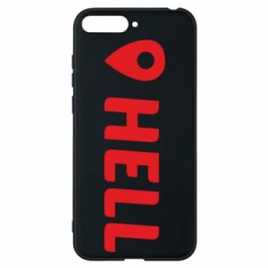 Phone case for Huawei Y6 2018 Hell is here