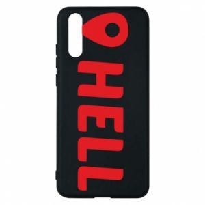 Phone case for Huawei P20 Hell is here