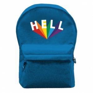 Plecak z przednią kieszenią HELL