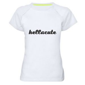 Koszulka sportowa damska Hellacute