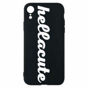 Etui na iPhone XR Hellacute