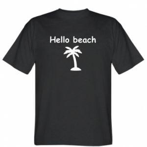 Koszulka Hello beach