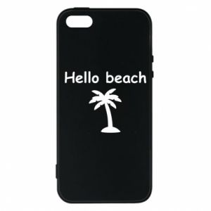 Etui na iPhone 5/5S/SE Hello beach