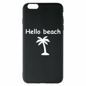 Etui na iPhone 6 Plus/6S Plus Hello beach