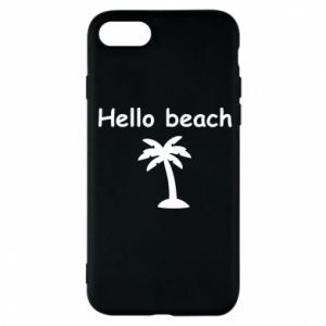 Etui na iPhone 7 Hello beach