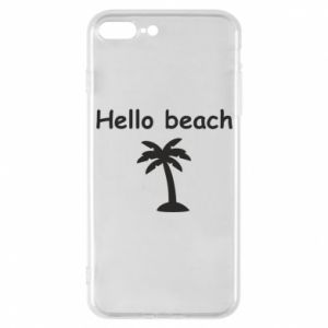 Etui na iPhone 7 Plus Hello beach