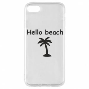 Etui na iPhone 8 Hello beach