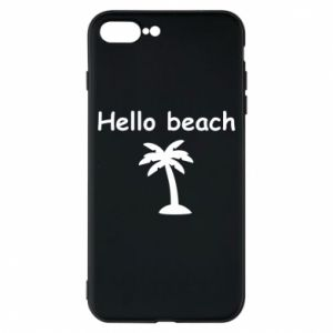 Etui na iPhone 8 Plus Hello beach