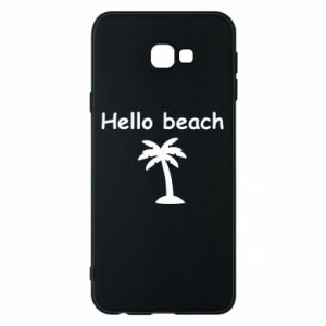 Etui na Samsung J4 Plus 2018 Hello beach